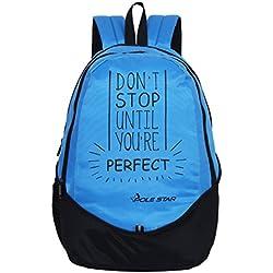 Polestar Buddy 30 Lt Blue Casual Travel Laptop Backpack School Bag