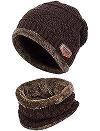 Aisprts Cappello Bambino Invernale Cappello Bambini Cappelli Inverno  Cappello Bambino Beanie Sciarpa dbdea21b2294