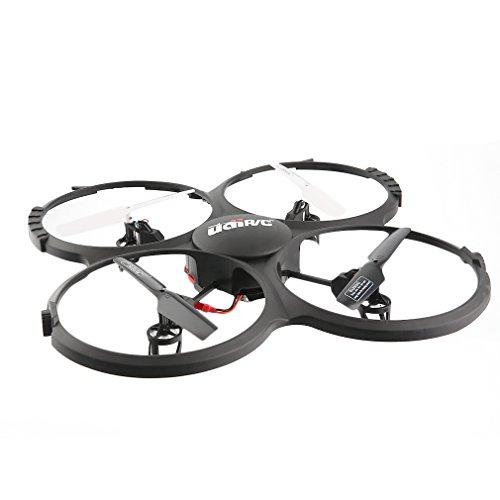 Drone-avec-Camra-YKS-Hlicoptre-LED-Navigation-24GHz-4CH-6-Axes-Vido-en-Direct-WIFI-Version-U818A-Quadcoptre-UDI-HD-720P-RC-avec-Mode-Headless-Contrle-Facile-Pour-les-Dbutants