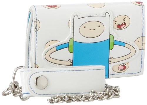 Herren Brieftasche Adventure Time Finn, mit (Time Adventure Kostüme Finn)