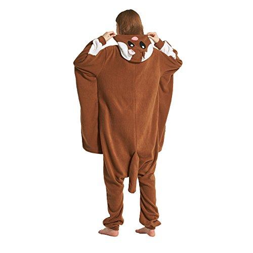 Hstyle Unisex Tier Schlafanzug Kigurumi Onesie Pyjamas Overall Nachtwäsche Cosplay Kostüme Kleid Maus