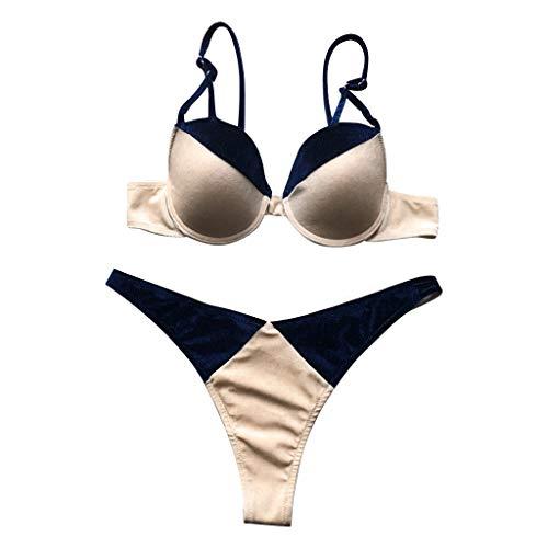457e66e23f47 Caratteristiche ed informazioni su yunyoud costume da bagno donne push-up  brasiliano bikini set ...