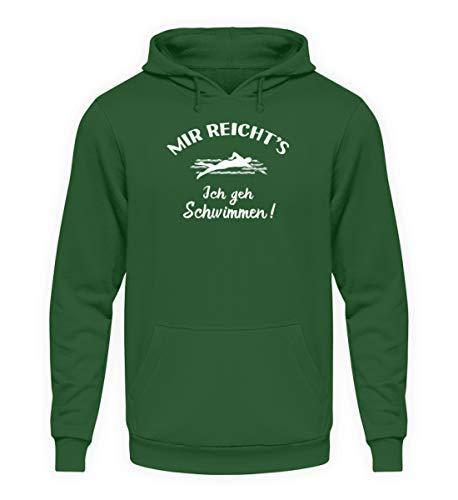 shirt-o-magic Schwimmer: Ich GEH Schwimmen! – Unisex Kapuzenpullover Hoodie