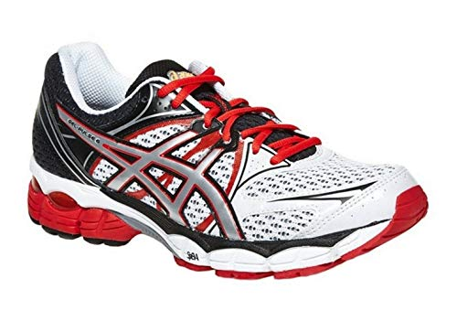 Asics Gel-Pulse 6 Men's Running Shoes White/Silver/Red