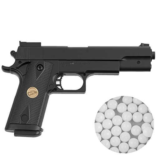 Softair Pistole P169 Kaliber 6 mm BB mit gratis Munition -