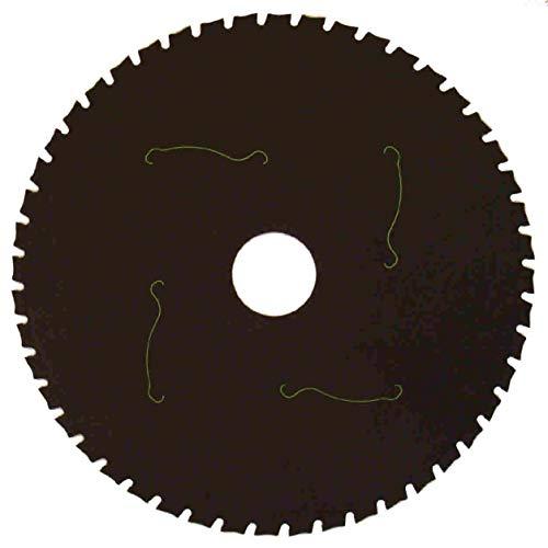 Im Trennscheibenshop Sägeblatt, KS6_Ø 216 mm (B=Ø 30mm) KreisIm Trennscheibenshop Sägeblatt, Geeignet für alle Hand Kreissägen, Kappsägen, Für Stahl + Eisen, Patentierte Kerametall Bestückung in Trapez Form,