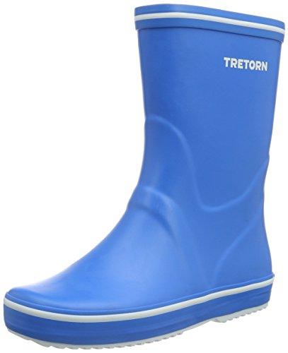 Tretorn Storm, Bottes mi-hauteur non doublées mixte adulte Bleu - Blau (Classic Blue 086)