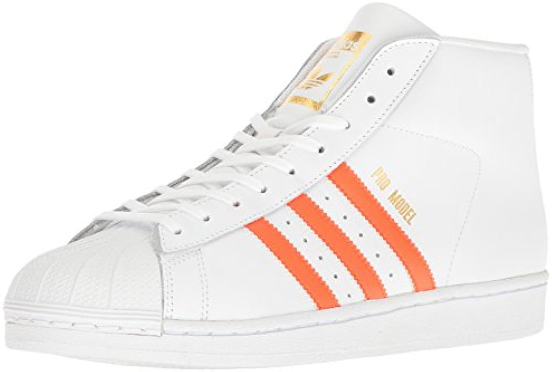 adidas originaux hommes est modèle modèle modèle professionnel fashion basket, blanc / energy orange nous métallique ou or, 7,5 m 52a947