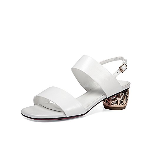 XY&GKLa basane est épais avec talon et confortable avec de belles et confortables,Talon 39 white