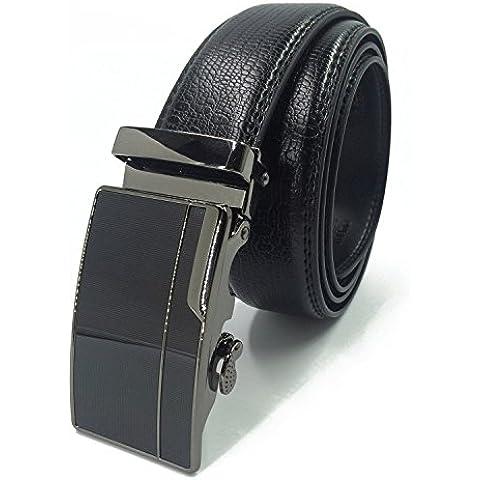 Weinida Hombres Negocio Vestimenta Casual Ropa Cinturón de Cuero Cinturones 35mm