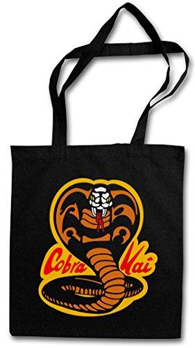 41n7TWzn0vL - Bolsa de la compra/playa Cobra Kai con logo retro