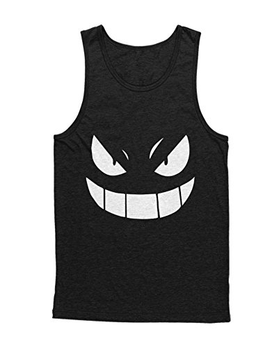 Tank-Top Poke Go Gengar Team Rocket University Hype Nerd Game C210014 Schwarz M