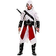 My Other Me - Disfraz de asesino para niño, 7-9 años, color blanco (Viving Costumes 202048)