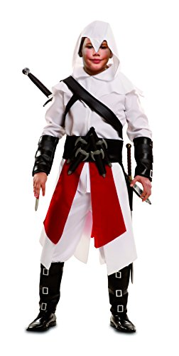 Creed Kostüm Assassin 4 (My Other Me – Kostüm Mörder, für Kinder, Weiß (viving Costumes) 7-9 años)