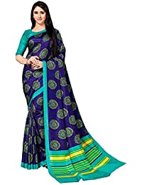 Lady Sringar Bollywood Style Cotton Silk Sari With Blouse Piece (party And Casual Wear Saree)