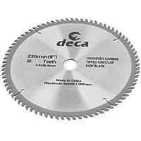 Sourcingmap - Lama Sega;Uso : per legno Taglio;Diametro Esterno : 230mm / 22.9cm