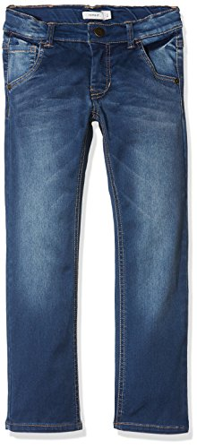 NAME IT Jungen Jeans Nkmryan Dnmtaz 3004 Pant Noos, Grau (Dark Blue Denim), 116