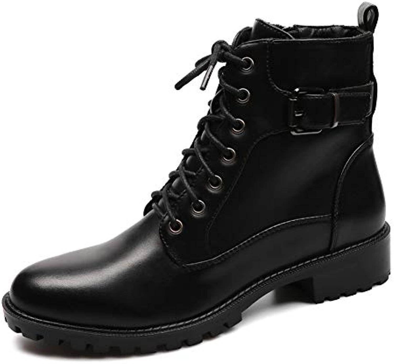 He-yanjing Stivali Stivali Stivali Invernali Martin Plus in Velluto Caldo Stivali Impermeabili con Plateau da Donna Stivali con... | Nuovo Stile  c54807