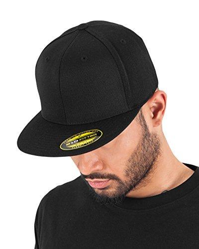 Adult Premium 210 Flexfit Fitted Cap Black black Size:S/M by Flex fit (Flex 210 Fit Cap)