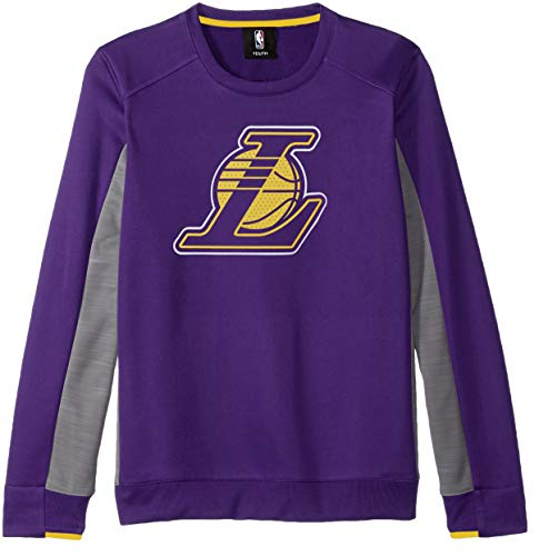 3c5a73b1f30 NBA by Outerstuff NBA Youth Boys Los Angeles Lakers Lay-up Long Sleeve  Performance Pullover