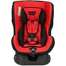 (Renewed) Luvlap Baby Carseat, (Red/Black) - 18164