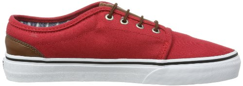 Vans U 106 Vulcanized (C L) Chinese R, Scarpe Sportive-Skateboard Unisex – Adulto Rosso (Rot ((C L) chinese r))