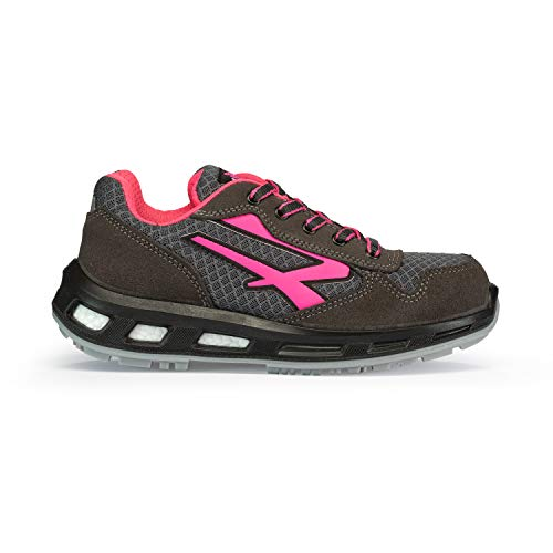 U POWER Verok S1p SRC Scarpe Antinfortunistiche Unisex-Adulto, Rosa (Rose 000) 36 EU