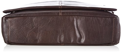 Marc O'Polo POST BAG M B0126541701103 Herren Umhängetaschen 38x30x9 cm (B x H x T) Braun (dark brown 790)