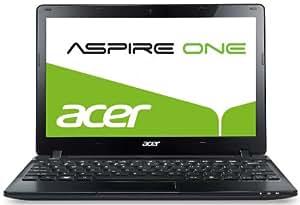 Acer Aspire one 725 29,5 cm (11,6 Zoll) Netbook (AMD C-60, 1 GHz, 4GB RAM, 500GB HDD, AMD HD 6290, Bluetooth, Win 7 HP) schwarz