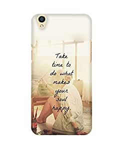 PickPattern Back Cover for Oppo F1 Plus
