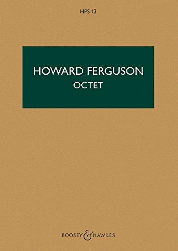 Oktett: Klarinette, Fagott, Horn, Streichquartett und Kontrabass. Studienpartitur. (Hawkes Pocket Scores)
