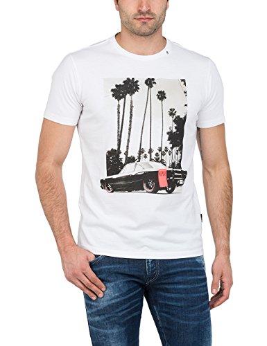 Replay Herren T-Shirt Weiß (White 1)