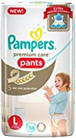 Pampers Premium Care Large Size Diapers Pants (58 Count)