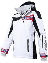 NEBULUS Freestyle - Chaqueta de esquí, color blanco, talla L