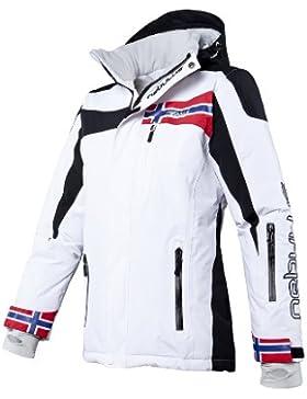 NEBULUS Freestyle - Chaqueta de esquí, color blanco, talla S