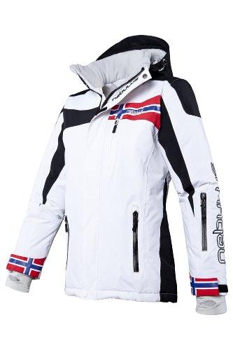 Nebulus Damen Skijacke Freestyle, Weiß, L