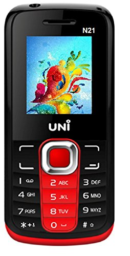 UNI N21 Dual Sim Mobile - Red