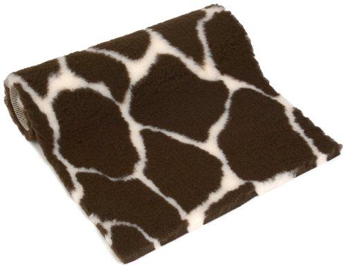 Petlife Vetbed Antibakterielle Decke für Hunde und Katzen, rutschhemmend, 91,4x61cm, Giraffenmuster