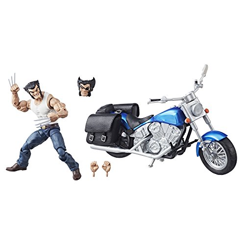 Marvel Avengers Legends 6-Inch Series Wolverine and Motorcycle Action Figure