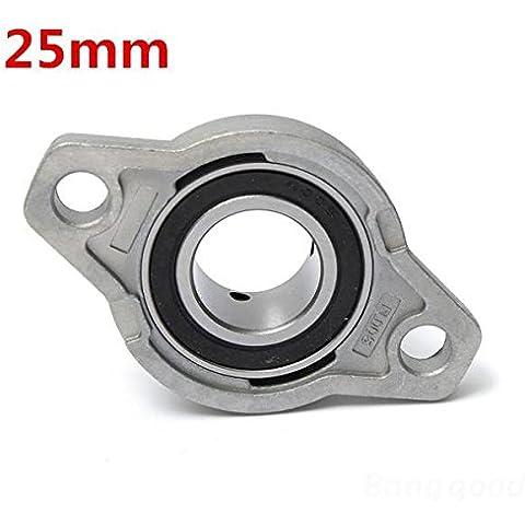 Calli 25 mm de diámetro interior de zinc almohada aleación bloque brida teniendo kfl005