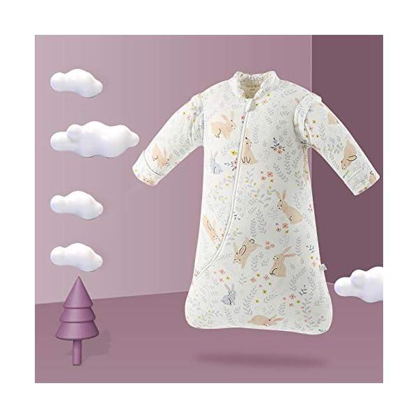 Dtcat Saco de Dormir de Invierno para bebés,Saco de Dormir para bebés,Saco de Dormir de algodón Engrosado de una Pieza para niños @ A_M,Saco de Dormir portátil con Saco de Dormir