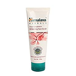 Himalaya Herbals Clear Complexion Whitening Face Scrub (100g) (Pack of 2)