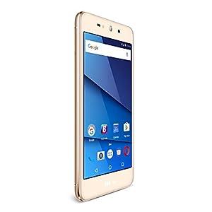 BLU Grand XL SIM-Free Smartphone - Gold