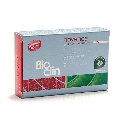 Bioclin Bioclin Phydrium Advance Kera Integratore Alimentare, 30 Compresse