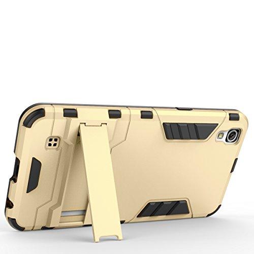 X Power Hülle,EVERGREENBUYING Abnehmbare Hybrid Schein XPOWER Tasche Ultra-dünne Schutzhülle Case Cover mit Ständer Etui für LG X Power (2016 Release) Saphir Silber