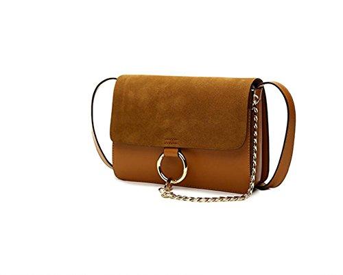 GBT Handtaschen-Schulterbeutel Kurierbeutel Brown