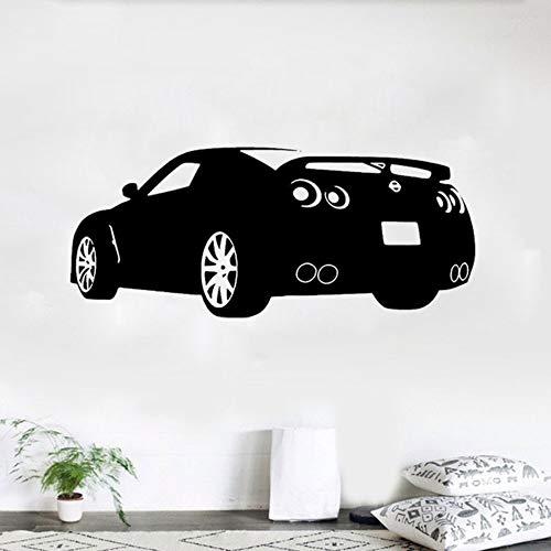 Wandaufkleber Vinyl Rennen-Sportwagen-Wand-Kunst-Vinyl L Nissan Automotive S Auto S41 * 98Cm - Decke Nissan