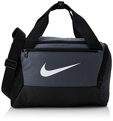 Nike NK BRSLA XS DUFF - 9.0 Gym Bag, Flint Grey/Black/White, 40 cm