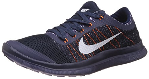 Nike Men's Free 3.0 Blue and White Running Shoes - 8.5 UK/India (43 EU)(9.5 US)(580393-007)  available at amazon for Rs.4077