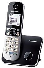 Panasonic KX-TG6811GB Telefono, Nero